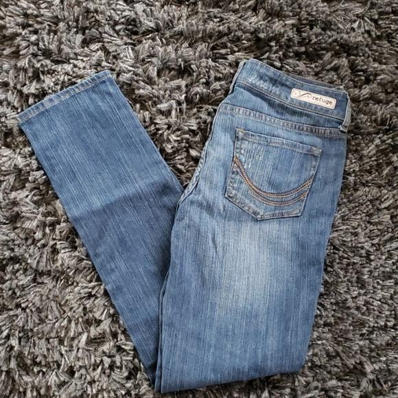 refuge Denim - Refuge Flirty Everyday Skinny jeans